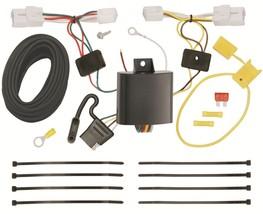 Trailer Wiring Harness Kit For 15-17 Hyundai Sonata except Hybrid Plug & Play - $51.45
