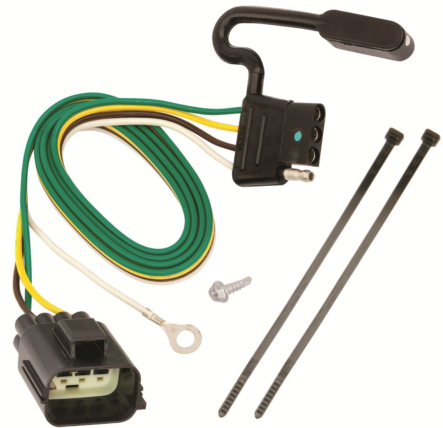 2012-14 LAND ROVER RANGE ROVER EVOQUE TRAILER HITCH WIRING KIT HARNESS PLUG  PLAY - $24.70