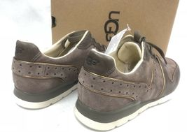 Ugg Australia Deaven Mouse Gold Suede Lace Up Shoes Tennis Sneakers 1019655 image 5