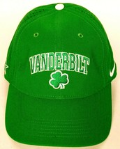 Vanderbilt University Clover Men's Green Baseball Hat Stretch Fit L/XL - $26.27