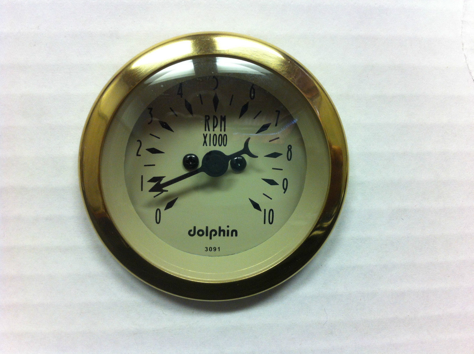 Primary image for 2 1/16 TACHOMETER GOLD