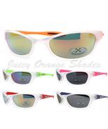 Unisex Sports Sunglasses Xloop 2 Tone Oval Comfort Wrap Frame UV 400 - $7.15