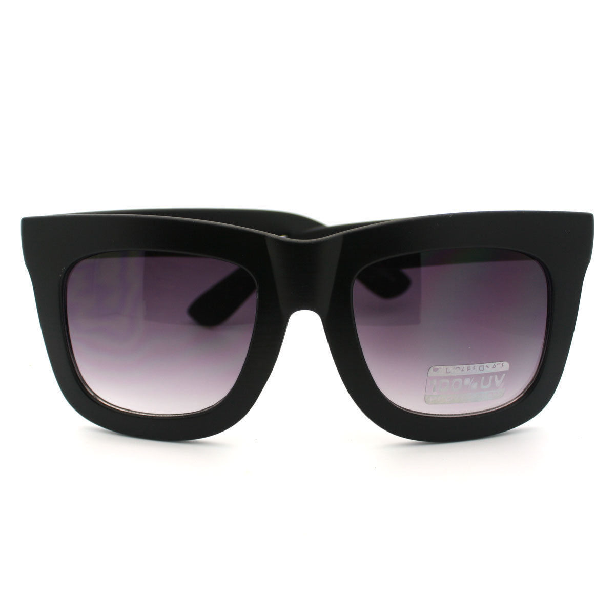 Unisex Sunglasses Super Bold Thick Frame Oversize Fashion Shades