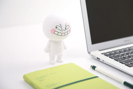 "LINE Friends Fun MOON Figure 15cm(6"") Art Toy Character Decor Desk Home ... - €36,18 EUR"
