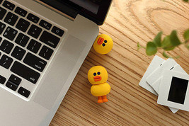 LINE Friends SALLY Duck Figure USB 16GB Naver Character Desktop Decor Ho... - €36,18 EUR
