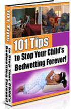 eBook guide on how to cope with bed wetting and have dry nights - $7.50