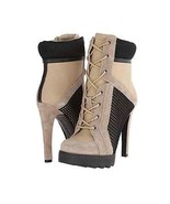 Women Ankle Boots Sporty Urban Fashion 8.5 Rubber Platform Sexy Wrap 4.5... - $169.05