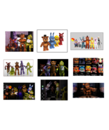 9 Five Nights at Freddy's Stickers,Birthday Party Favors,FNAF,freddys,de... - $8.99