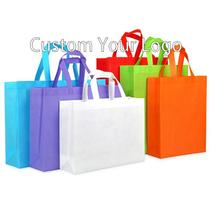 High quality promotional custom shopping non woven bag with print logo - $200.00+