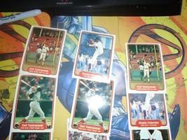 1981 1982 Fleer Red Sox Baseball 9 Card Lot Carl Yaztrzemski + More image 2