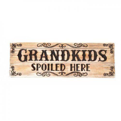 GRANDKIDS DECORATIVE SIGN