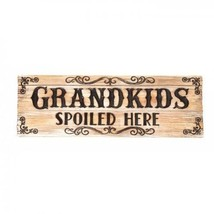 GRANDKIDS DECORATIVE SIGN - $21.78