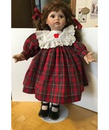 Apple Dumpling Doll Ann Timmerman w/ Stand - $14.01