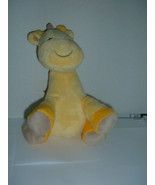 Carters Child Of Mine Yellow Giraffe White Spots Musical Lullaby Plush 45 - $17.32