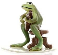 Hagen-Renaker Specialties Froggie Mountain Breakdown Bluegrass Frog Mandolin  image 6