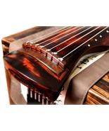 Vermillion Lacquered Aged Paulownia Guqin for Performers - $380.00
