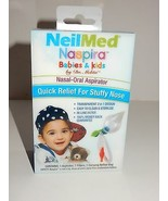 Neilmed Naspira Babies & Kids Nasal-Oral Aspirator NEW - $8.54