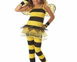 LITTLE HONEY BUMBLE BEE GIRLS HALLOWEEN COSTUME CHILD SIZE MEDIUM 8-10