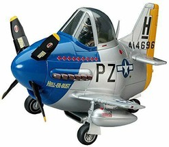 Hasegawa eggs airplane US Army P-51 Mustang non-scale plastic model TH7 - $16.04