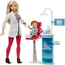 Barbie Careers Dentist Doll Playset Toothbrush Toothpaste Tube And Tooth... - $37.99