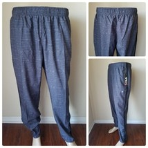 FILA Sport Tru Dry Wicking Running Pants Joggers Track Gym Athletic Ash ... - $26.50