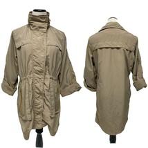 Venezia Milano Full Zip Rain Jacket Beige Color Women's Size M - $29.70