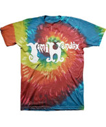 Jimi Hendrix-Logo-X-Large Swirl Tie Dye T-shirt - $20.31