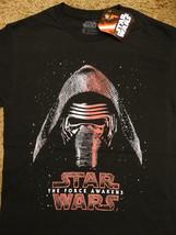 Star Wars The Force Awakens Movie Kylo Ren Closeup T-Shirt - $11.95+