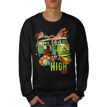 Road Trip Adventure Jumper Groovy Van Men Sweatshirt - $18.99+