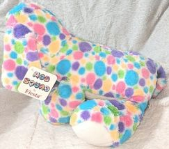 Fiesta Mod Squad A51766 12 inch Multi Colored Polkadots Floppy Dogs image 3