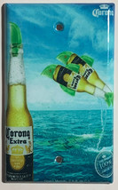 Corona Extra Bottle Beer Logo Light Switch Power Outlet Wall Cover Plate Decor image 4