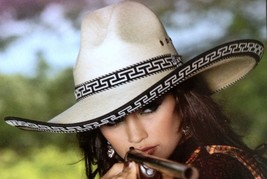 Bullhide Palm Leaf Hat Women's Western SHOOTING FEVER 30X Sizes S, M, L, XL - $89.99+