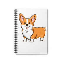 Pembroke Welsh Corgi Spiral Notebook - Ruled Line - $17.00