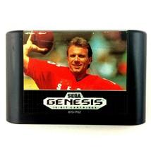 Joe Montana II Sports Talk Football Sega Genesis 1991 Cartridge Only Tested - $3.91