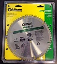 "Oldham Pro Series 100P8160T 10"" x 60 TCG Radial Arm Carbide Saw Blade USA - $27.72"