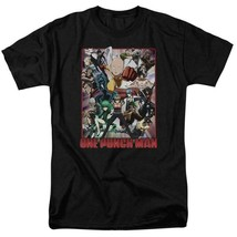 One Punch Man Anime TV series Superhero Saitama graphic t-shirt OPM118 image 1