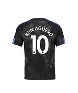 new KUN AGUERO #10 Manchester city 2017 2018 17 18 third Men Jersey - $26.98