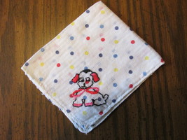 Vintage Colorful Children's Handkerchief with E... - $9.99
