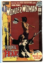 Wonder Woman #199 comic book 1972- Jeff Jones horror cover- DC VG - $46.66