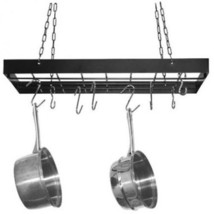 Heavy Duty Metal Pot Rack Cookware Decor Kitche... - $48.48