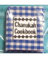 DOLLHOUSE Chanukah Cookbook readable Judaica By Barb JC6 NEW 1:12 scale - $8.00