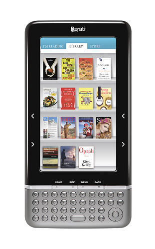 Literati eReader Wi-Fi, 7 inch Color Screen (White)- NO POWER SUPPLY