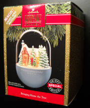 Hallmark Keepsake Christmas Ornament 1991 Bringing Home The Tree Box Lig... - $11.99