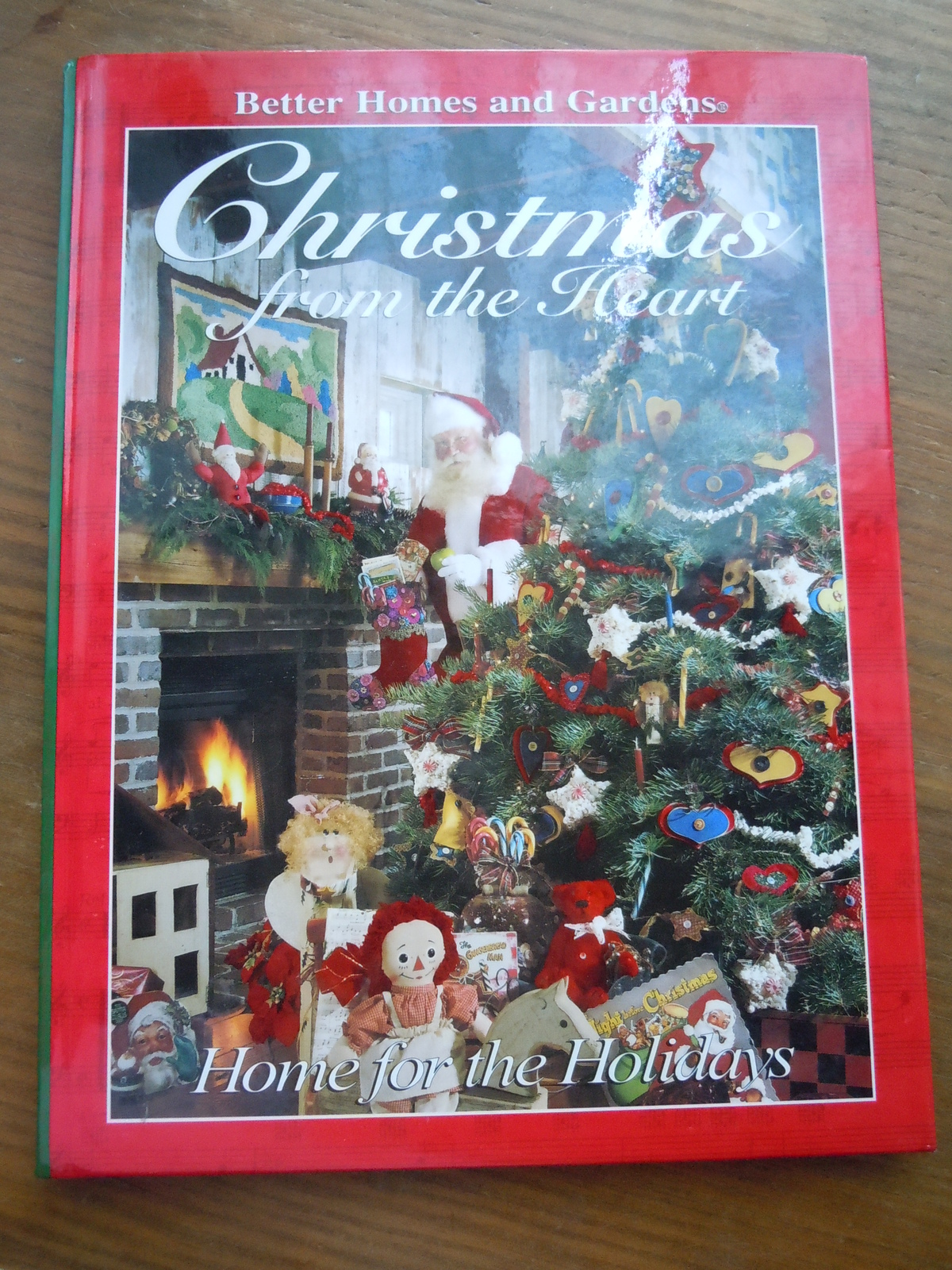 Primary image for Better Homes & Gardens Christmas From the Heart Home For The Holidays Hardcover