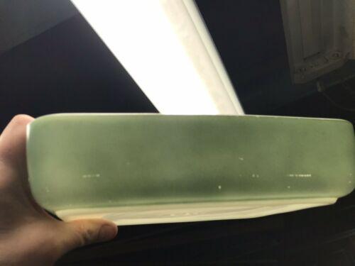 Pyrex 1953 HEINZ Promotional Green 1-1/2 qt. Open Casserole Dish 507-B (2)