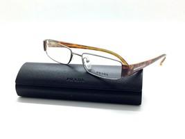 Prada Amber Tortoise 72H 5AV Eyeglasses Optical 51mm Narrow Case Not Included - $48.20