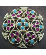 "Sarah Coventry ""Ceylon"" Brooch - $15.00"