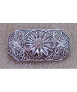 Beautiful Edwardian Filigree Brooch - $24.99