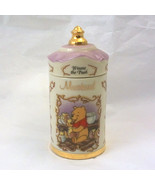 The Winnie the Pooh Walt Disney Spice Jar Collection 1995 Lenox Porcelain - $11.00
