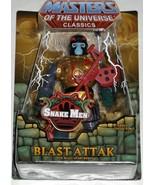 Mattel Masters Of The Universe Classics Blast Attak Evil Snake Men Robot... - $39.95